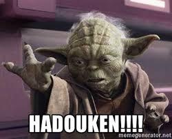 Meme Generator Yoda - hadouken yoda may the force be with you meme generator