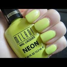 25 off milani other milani nail polish neon 503 totally 80s