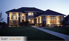 prairie home designs 4081 prairie home plan at design basics