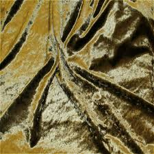 Crushed Velvet Fabric For Curtains Fibre Naturelle Crushed Velvet Curtain Fabric Olive Green