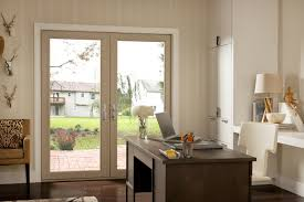 good view of beautiful hinged patio doors u2014 home ideas collection