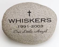 pet memorial garden stones custom engraved for pet memorial