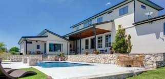 modern hill country home steed custom homes will steed homes featured by milgard windows and doors