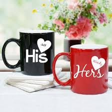 his and hers mug personalized ceramic coffee mugs cups his mugs