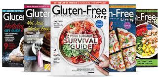 Subscribe to GlutenFree Living Magazine  GlutenFree Living