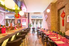 inside the lucky bee a colorful thai restaurant on broome street