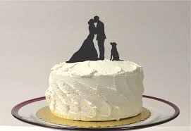 where to buy wedding cake toppers made in usa silhouette cake topper with pet dog 48 different