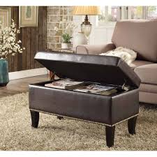 ottoman astonishing oversized ottoman with storage houndstooth