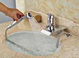 Handheld Bathtub Faucet Rozin Single Lever Bathtub Faucet With Handheld Sprayer Chrome