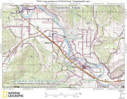 Map Of Leavenworth Wa Wenatchee River Peshastin To Cashmere