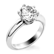 solitare ring basket style 6 prong solitaire ring jewelry
