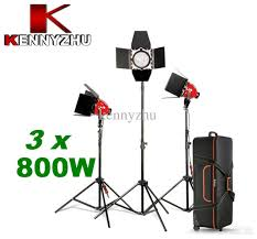 best softbox lighting for video photo video studio continuous lighting kit red head spot light 3 x