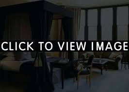Thick Black Curtains Thick Black Curtains Heavy Blackout Canopy Bed Home Design