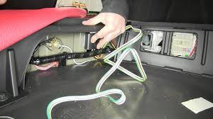 installation of a trailer wiring harness on a 2014 acura mdx
