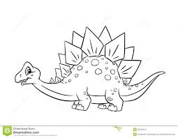 drawn dinosaur stegosaurus pencil and in color drawn dinosaur