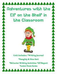 elf on the shelf unit free by kinderpillars teachers pay teachers