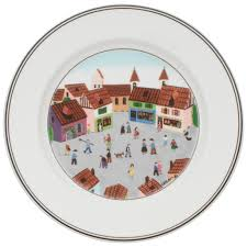 design naif dinner plate 4 square 10 1 2 in