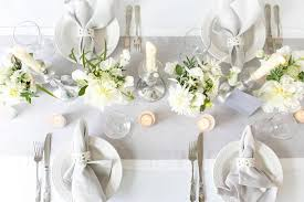 Wedding Table Setting Luxury White U0026 Grey Wedding Table Setting Inspiration From B Loved