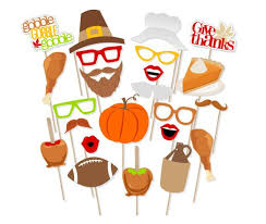 thanksgiving props printable thanksgiving photo booth props instant