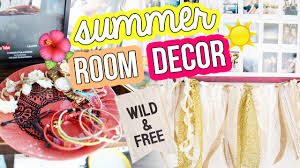diy summer room decor urban outfitters inspired laurdiy youtube