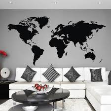World Map Wall Sticker by Office Decoration Picture More Detailed Picture About World Map