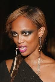 new york city halloween 2012 tyra banks attends moth ball event in nyc tyra banks makeup 6