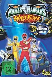 power rangers wild force complete collection region 2 pal german