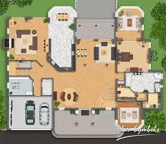 villa floor plans big villa floor plan by plan symbols on deviantart