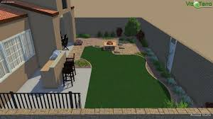 Paver Design Software by 3d Landscape Design Turf Fire Pit Plants And Sierra Blend