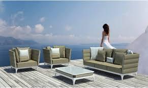 Stripe Italian Outdoor Garden Sofa By Talenti Garden Chairs - Italian outdoor furniture