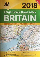 aa road map usa maps atlases ebay