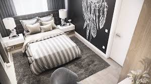 Black Feature Wall In Bedroom Luxury 3 Bedroom Apartment Design Under 2000 Square Feet Includes