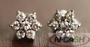 diamond earrings philippines genuine diamond earrings for sale n