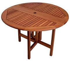 Drop Leaf Patio Table Arboria Patio Table 42 Inch Diameter Drop Leaf