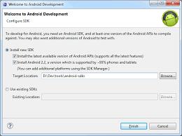 install android sdk android sdk installation