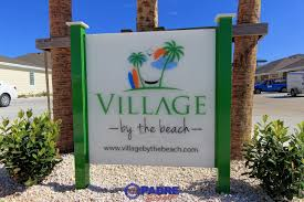 village by the beach