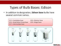 light bulb base sizes flood lights bulb sizes comparison led light