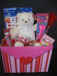 valentines day gift baskets valentines day gift basket for kids