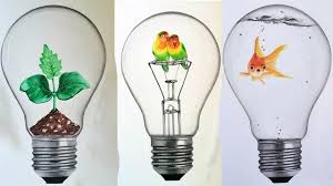interesting idea in bulbs drawing by ᴴᴰ