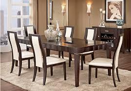 Espresso Dining Room Sets Mondavi Espresso 5 Pc Dining Room Dining Room Sets Dark Wood