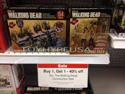 toys r us thanksgiving sale 2014 the walking dead construction sets bogo sale november 16th 22nd at