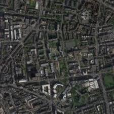 best aerial maps king s cross station uk on the satellite picture best