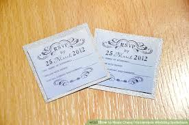 make wedding invitations 3 ways to make cheap wedding invitations wikihow