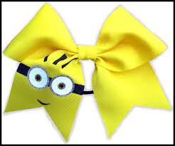 cheer bows uk yellow minion 2 britcheerapparel