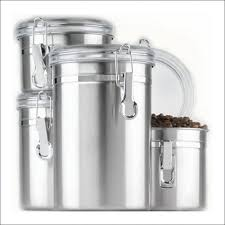 kitchen canisters stainless steel kitchen kitchen storage containers stainless steel canisters tea