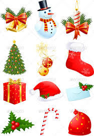 christmas symbols holiday icon icons and vector graphics