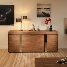 modern large walnut sideboard cabinet cupbaord buffet 2 0mt
