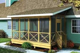 house plans with screened porches screened in porch plans to build or modify screened porches