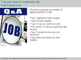 residential doorman resume doorman resume resume cv cover letter