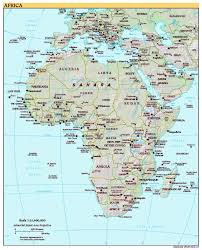 Interactive Map Of Africa by Free High Resolution Map Of Africa